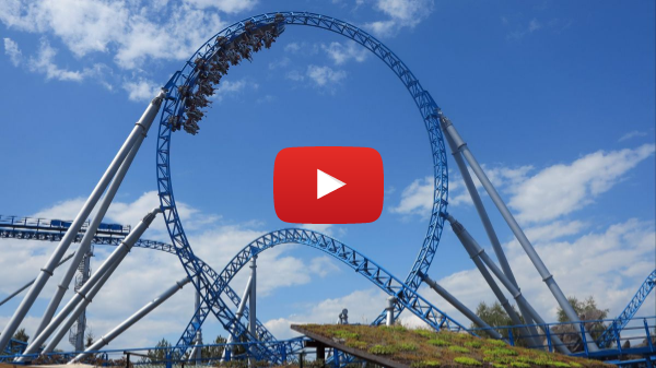POV - blue fire Megacoaster powered by GAZPROM / Europa-Park - OFFICIAL ONRIDE